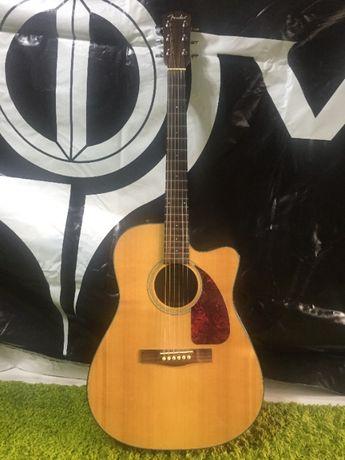 Продам электроакустическую гитару Fender CD-140SCE/NAT