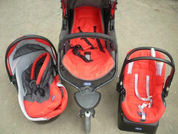 Детска количка триколка 3в1 CHICCO Trio S3/Чико