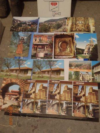 АРХИВНИ пощенски картички и брошури от 60,70 и 80-те години.