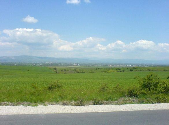 ТОП парцел панорама 2500м2 Гурмазово общ. Божурище на асфалтов път