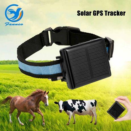 №1 Спутниковый GPS Трекер для Лошадей/Батарейка до 45 дней/EAC
