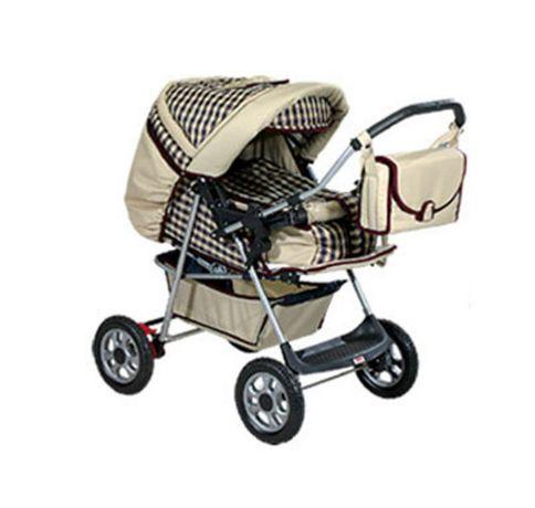 Комбинирана детска количка Mag England Princess - червена