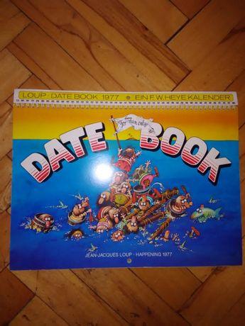 Стар Немски календар 1977г.