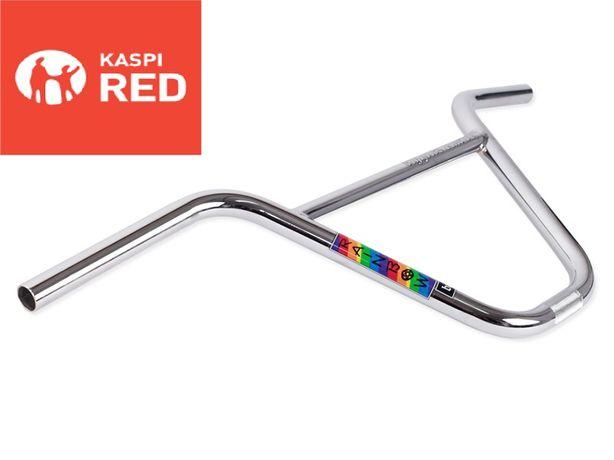Руль для BMX Фирмы EIGHTIES Rainbow Chrome 9 и другие запчасти!