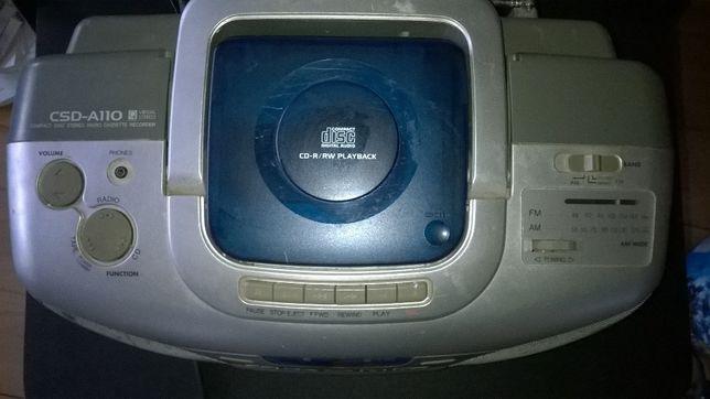 Radio casetofon cu CD Aiwa