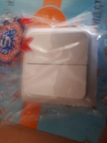 Продам двухклавишные выключатели, фирмы MD Plast серии Candy.