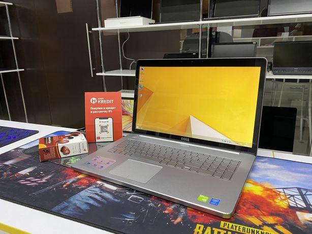 Мощный Ноутбук Dell inspiron 17 Core i7-5500U! 16GB! GeForce 845M 2GB