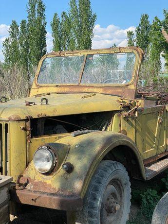 ГАЗ 69 старинное авто