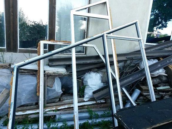 Скосени прозорци алуминиева дограма с термомост плюс врата