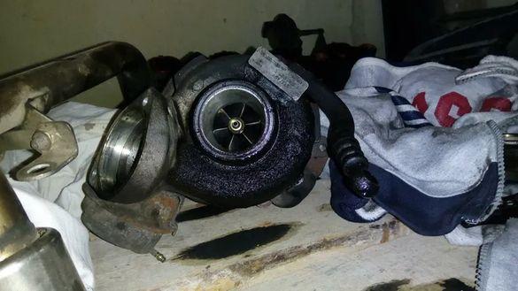 турбо бмв е46 150 к.с. bmw e46 116 к.с турбокомпресор маркучи турбина