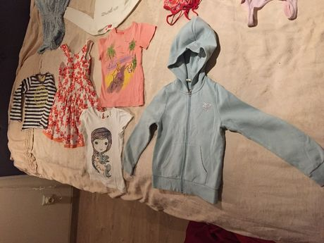 одежда разная для девочек от 6 до 8 лет, 15 наименований, брендовая