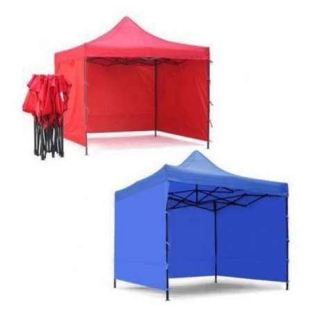 Pavilion/cort 3 x 4,5 m Sistem Acordeon cu 3 Pereti