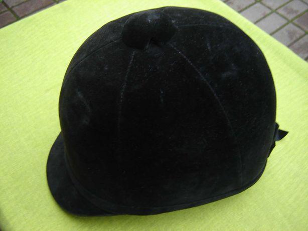 Casca englezeasca de echitatie, neagra , marimea 58