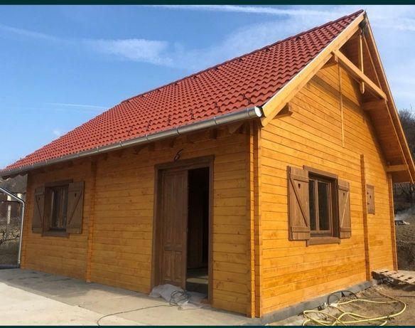 Vând cabane .Doriți o casa din lemn, o cabana, un foișor sau o casuta