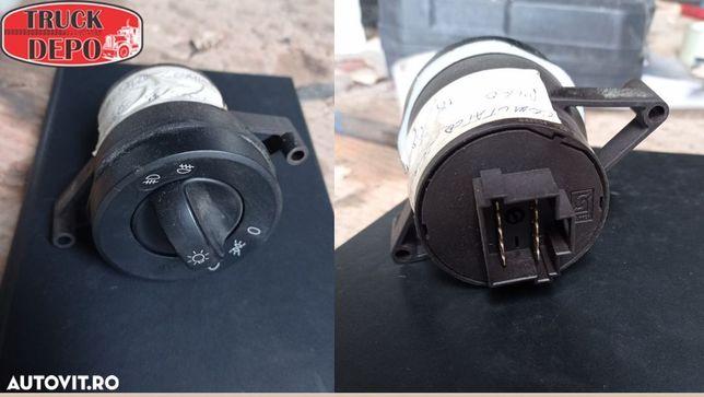 Comutator lumini Mercedes Benz Atego 815. Piese originale provenite din dezmembrari camioane