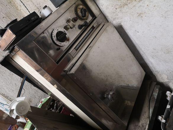 Професионална печка с термометър и таймер