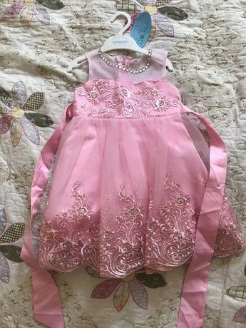 Сандали и новое платье
