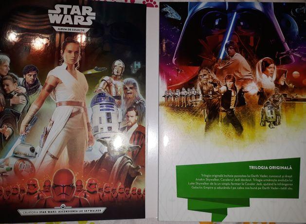 Set complet Album cartonase Star Wars Kaufland 2019-2020