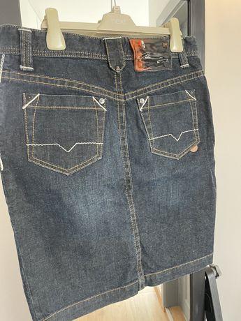 оригинална дънкиво пола Hugo Boss