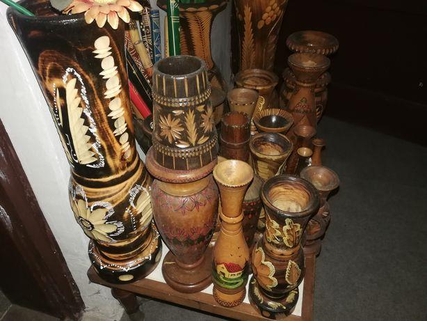Obiecte artizanat din lemn vechi