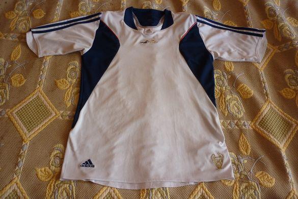 """Мъжка оригинална тениска """"Adidas"""" - размер М"""