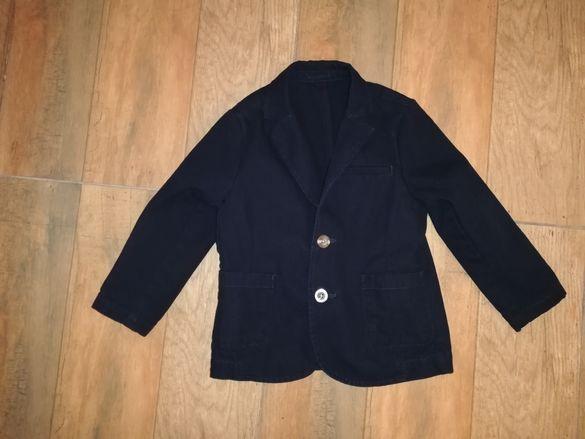 Платнено сако и ризи 2-3-4г
