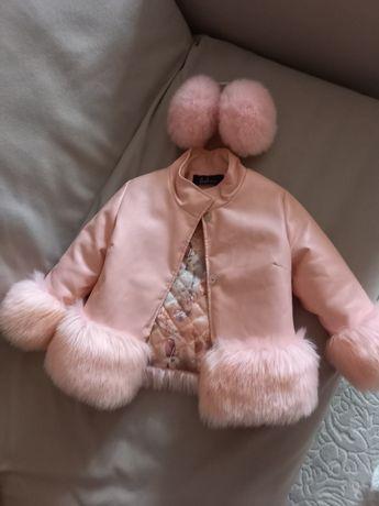 Куртка для девочки на 5-7лет