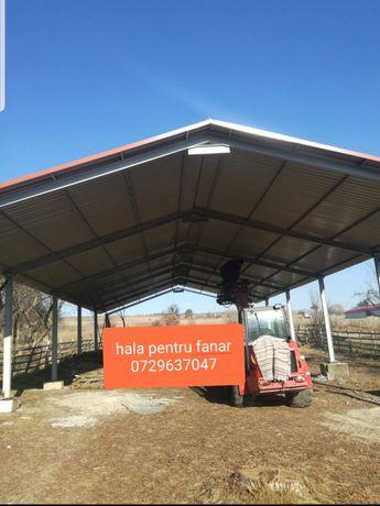 hala metalica ferme stalpi 11cu23m