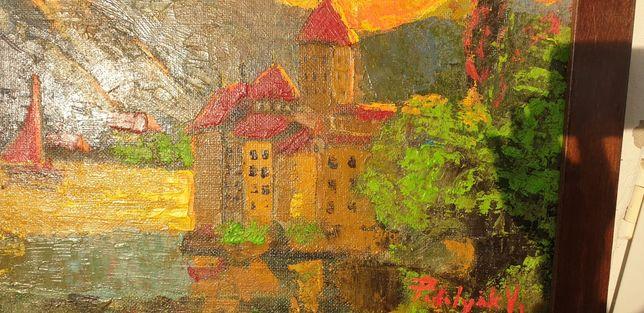 Tablou Podolyak Vilmos -Castel