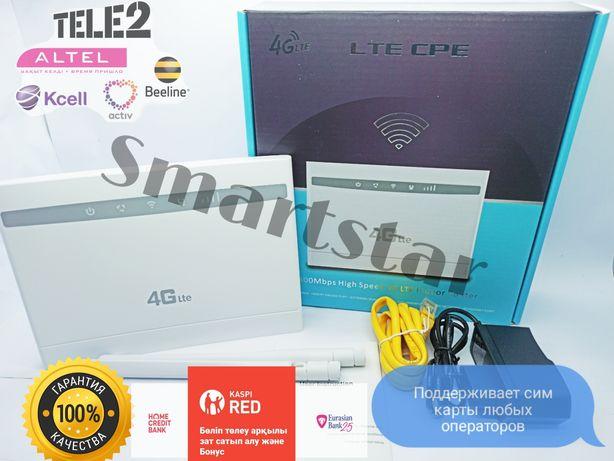 ZTE 4G CPE A+ роутер, модем wifi работает с любой сим картой