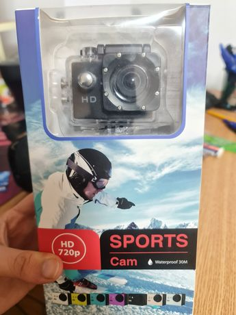 Sports cam waterproof 30m hd 720p
