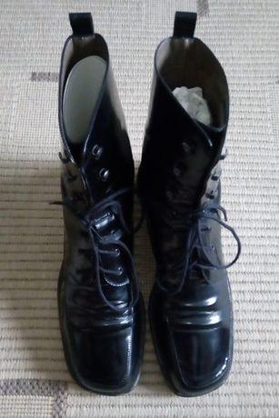 Ботинки кожаные, фирмы Bally, модель Fossberg