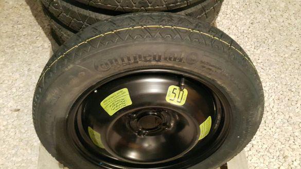 резервна гума патерица 4x108 15 и 16цола за пежо, ситроен, форд и др.=
