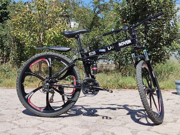 Продаётся складной велосипед с титановыми дисками Land Rover
