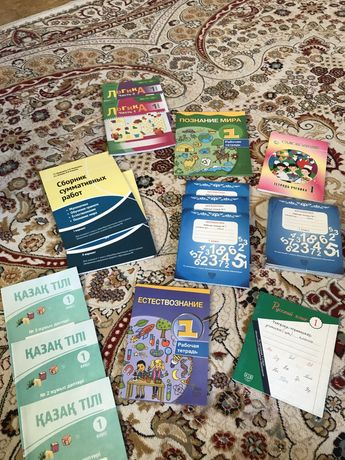 Рабочие тетради и книги 1 класс познание естествознание математика