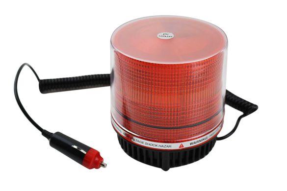 LED Сигнална Аварийна Автомобилна Лампа-Маяк 12/24V с кабел за запалка