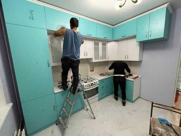 ЖМИ! PROLUX Кухонный Мебель под Заказ Кухня Гарнитур Шкафы на Прихожие
