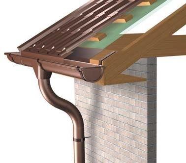 Montare si construire jgheab  jgheaburi burlane metalice