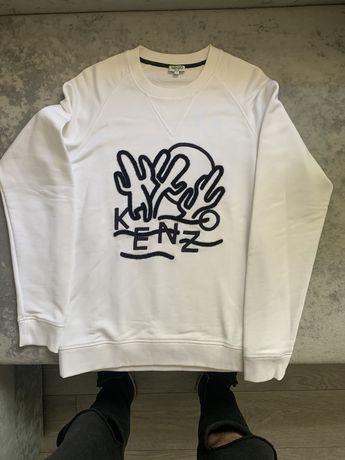 Kenzo Sweatshirt / Pulover alb