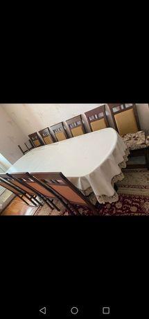 Продам гостиный стол со стульями, в отличном состоянии