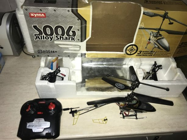 Elicopter Syma S006 Alloy Shark 3CH RC Defect