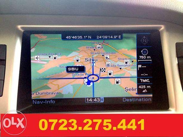 AUDI Dvd Navigatie Harti Gps 2020 Detaliate Audi Q7 A6 A8 Harti GPS