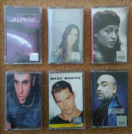 Vangelis, Cher, Emilia, Enrique Iglesias, Ricky Martin, Demis Roussos