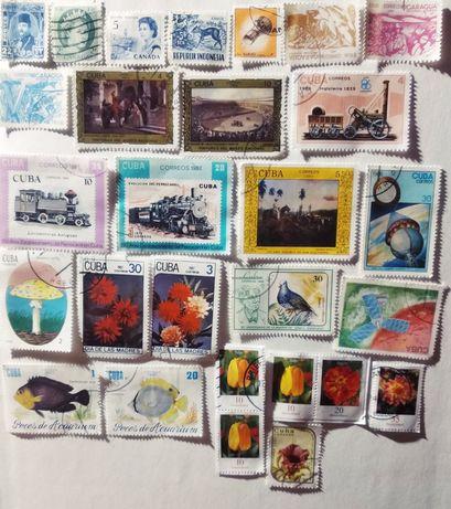 Lot 34 timbre straine