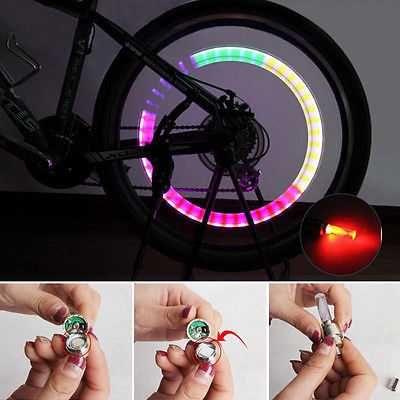 SET 2 LED-uri mini valve capace ventil pentru bicicleta