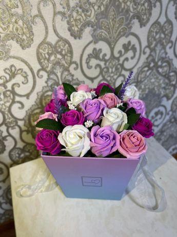 Мыльные розы! Сладкий букет! ПРИНИМАЮ заказы ко дню учителей!!