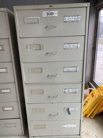 Метален офис контейнер за папки