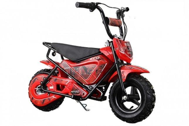 Mini Motocicleta electrica pentru copii NITRO ECO Flee 250W #Rosu