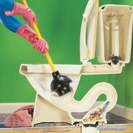 Прочистка канализации, чистка труб, чистка канализации, круглосуточно!