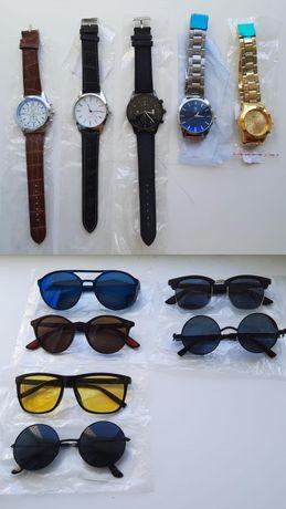 Продаються новые наручные часы и очки